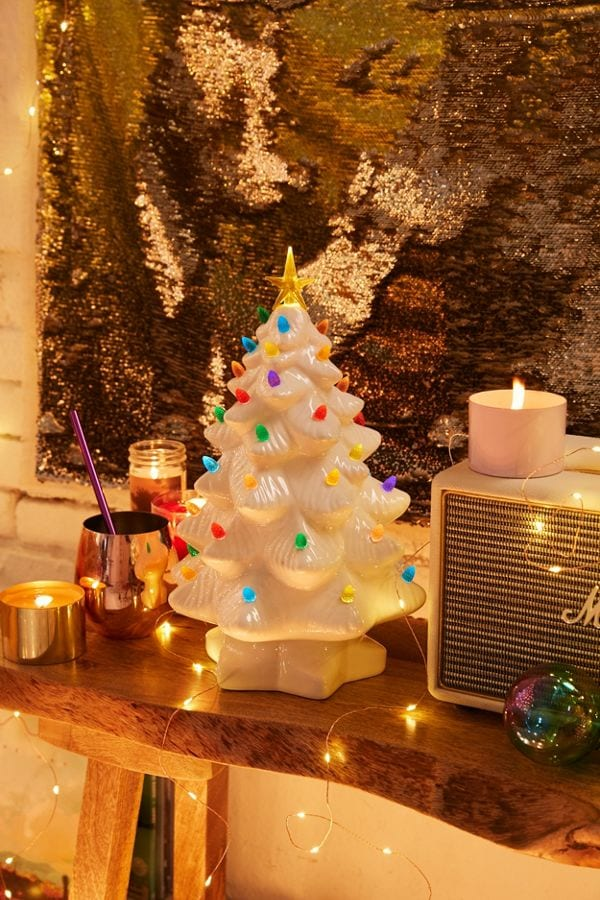 Those Popular Ceramic Christmas Trees From The 60s Are Back And