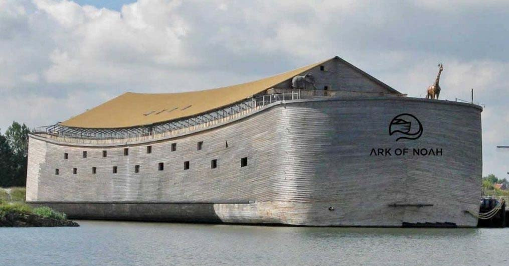 An Amazing Life-Sized Replica Of Noah's Ark Will Set Sail To Israel