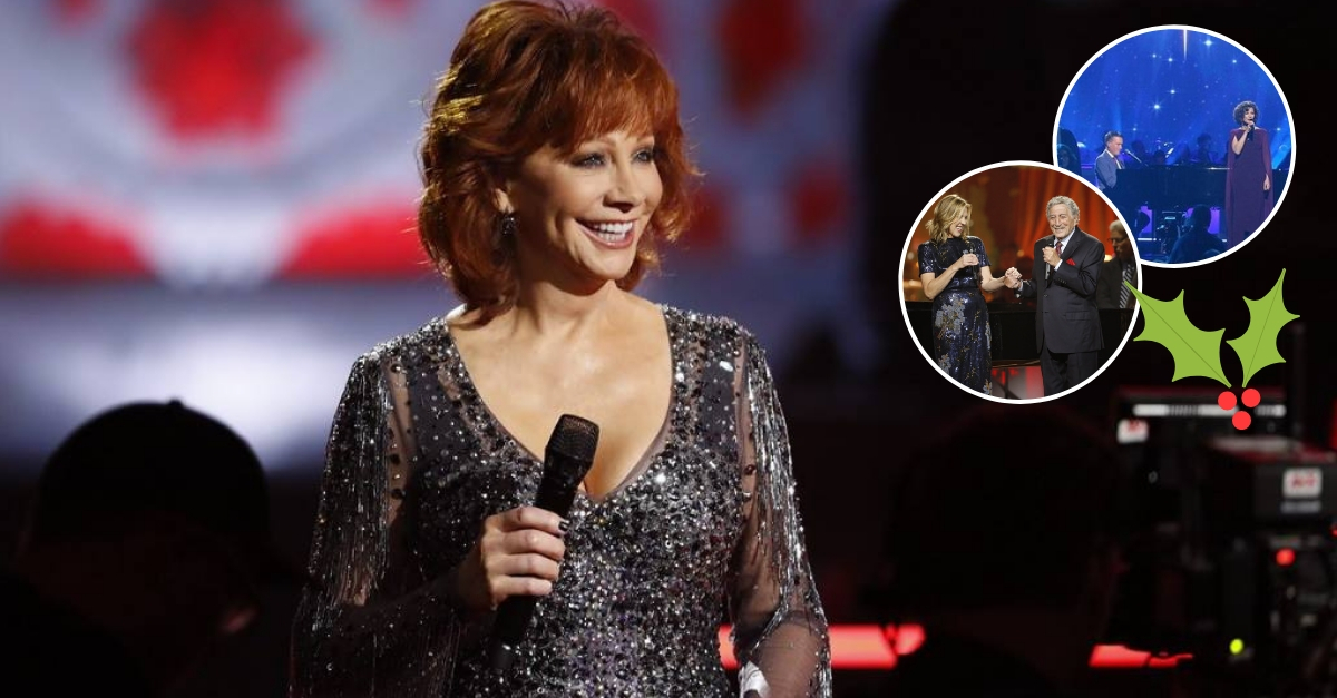 'CMA Country Christmas' Didn't Sound Very Country, But Reba McEntire Managed To Steal The Show
