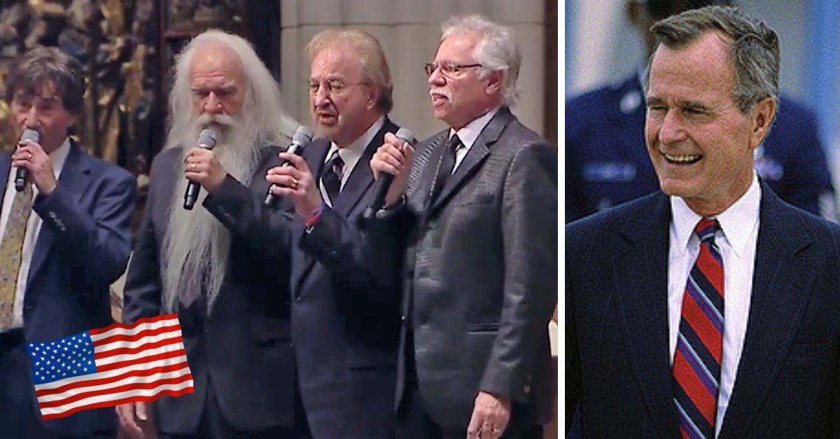 Watch The Oak Ridge Boys Fulfill George H.W. Bush's Final Wish