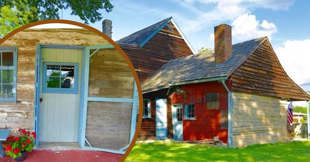 You Can Now Live In The Oldest Log Cabin In The United States That Was Built In 1638