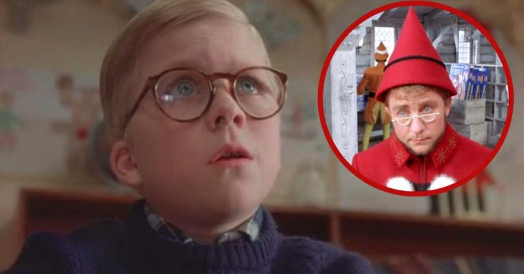 ralphie from a christmas story had an unnoticed cameo in elf