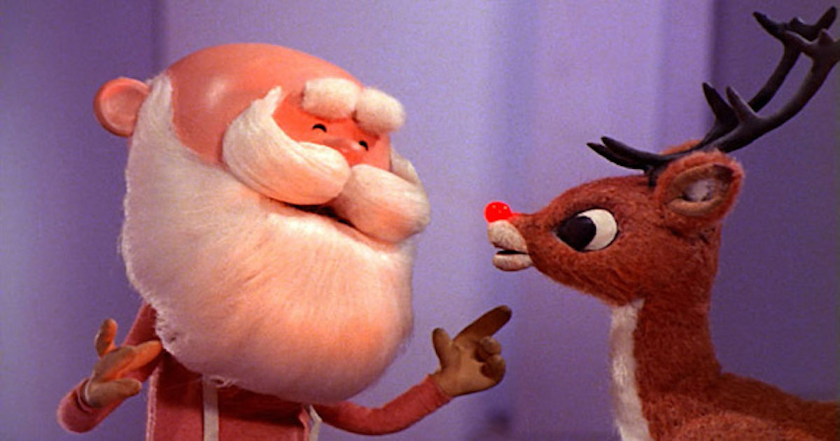 Rudolph The Red-Nosed Reindeer Is The Best Christmas Movie, According To A New Poll