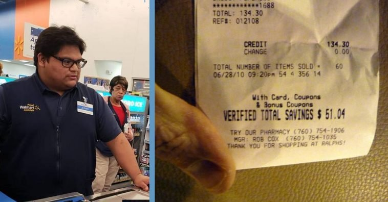 Teenage Cashier Pays For A Struggling Customer's Grocery Bill