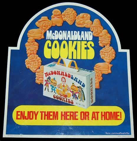 mcdonald cookies