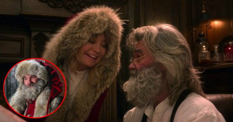 Christmas Chronicles.Kurt Russell And Goldie Hawn Reunite In The Christmas