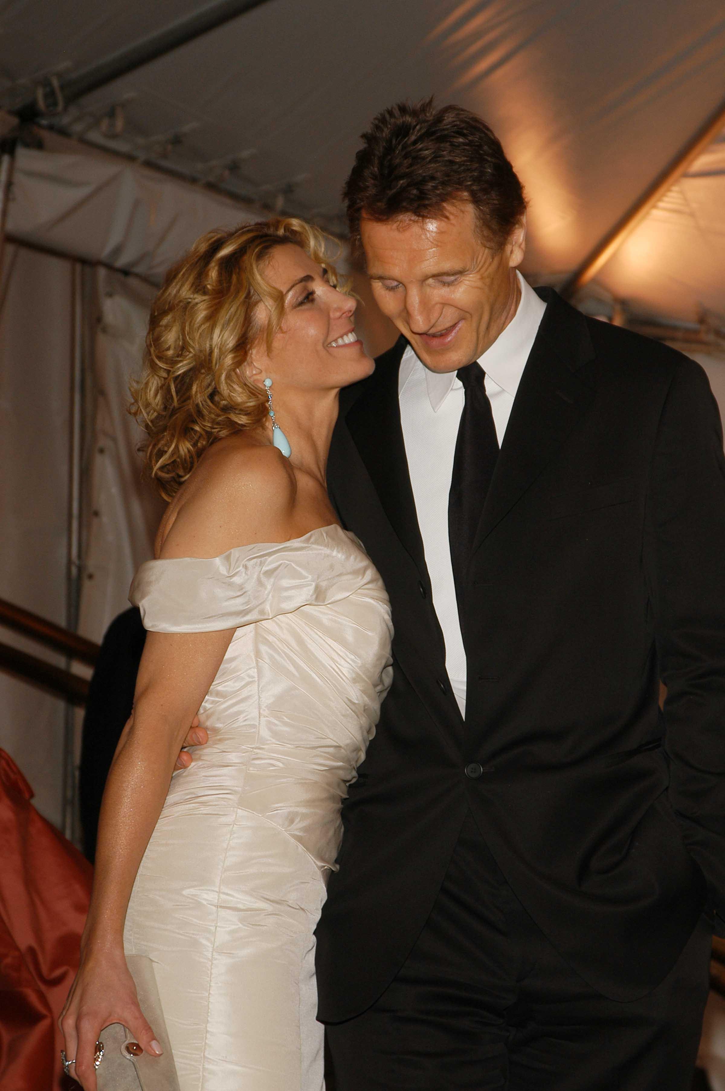 Wedding photos richardson natasha Liam Neeson