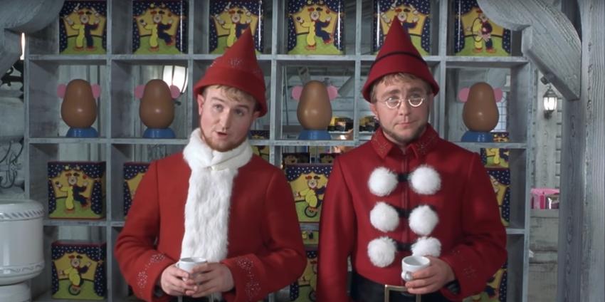A Christmas Story- Meeting Santa Claus Clip (HD) - YouTube
