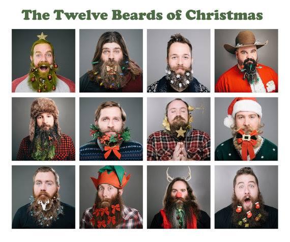twelve beards of christmas