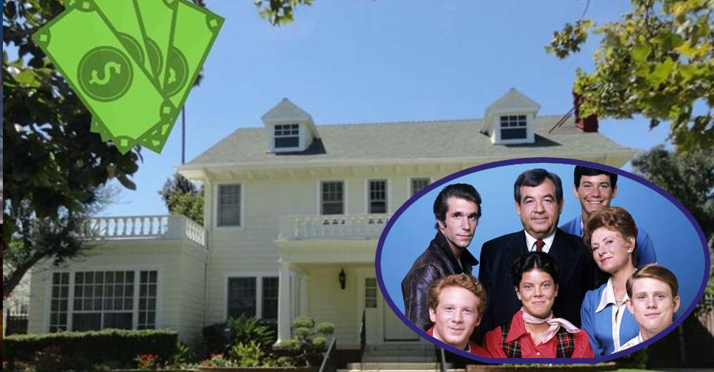 Find Out The Real Cost Of The Cunningham's Home From 'Happy Days'