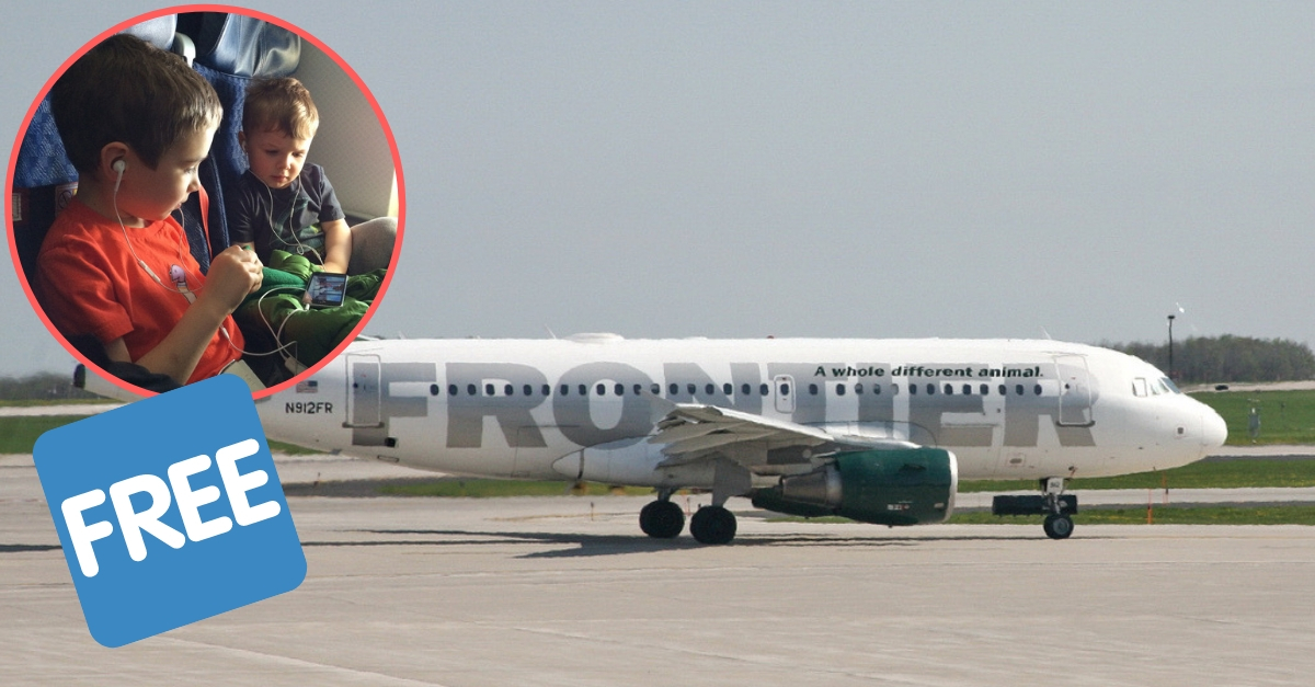All Kids Can Now Fly For Free On Frontier Airlines