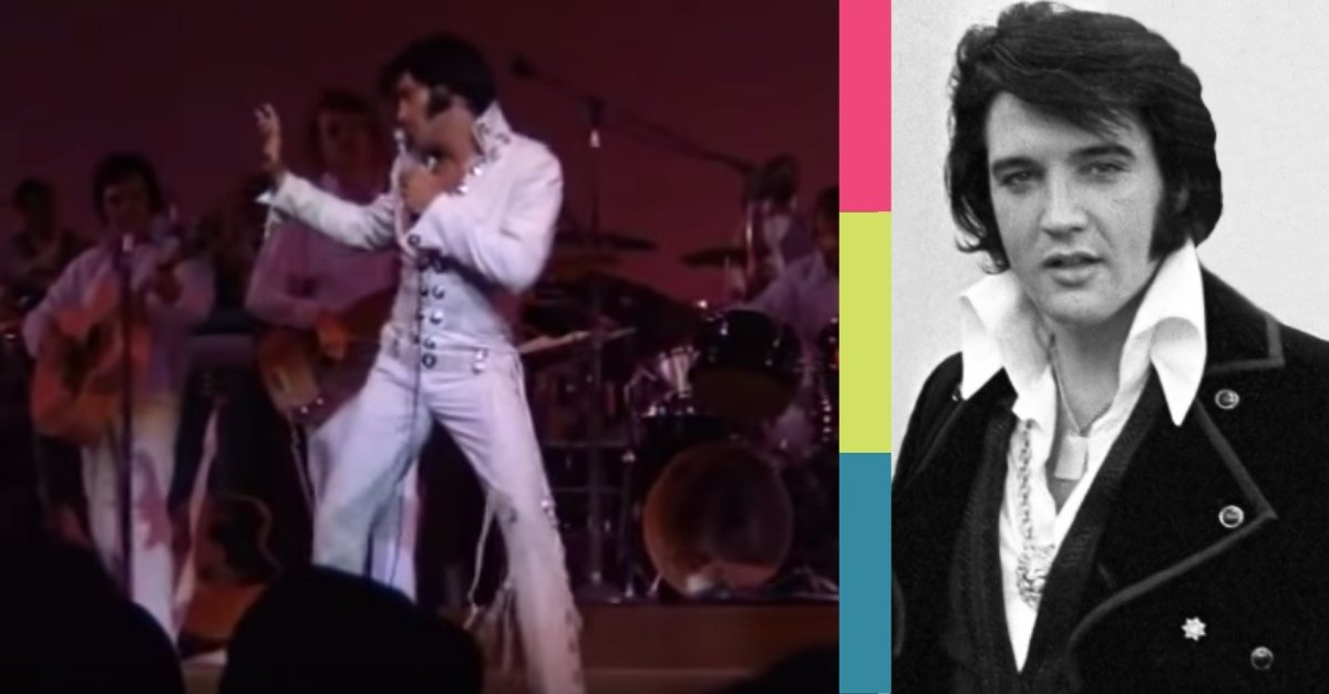 """WATCH: The 1970 Las Vegas Performance Of """"Suspicious Minds"""" By Elvis Presley"""