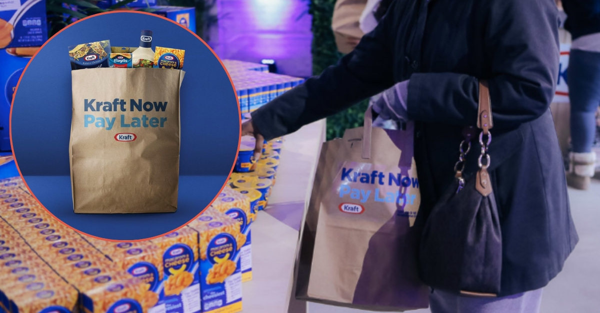 Kraft Opens Store So Parents Can Feed Their Families During The Government Shutdown