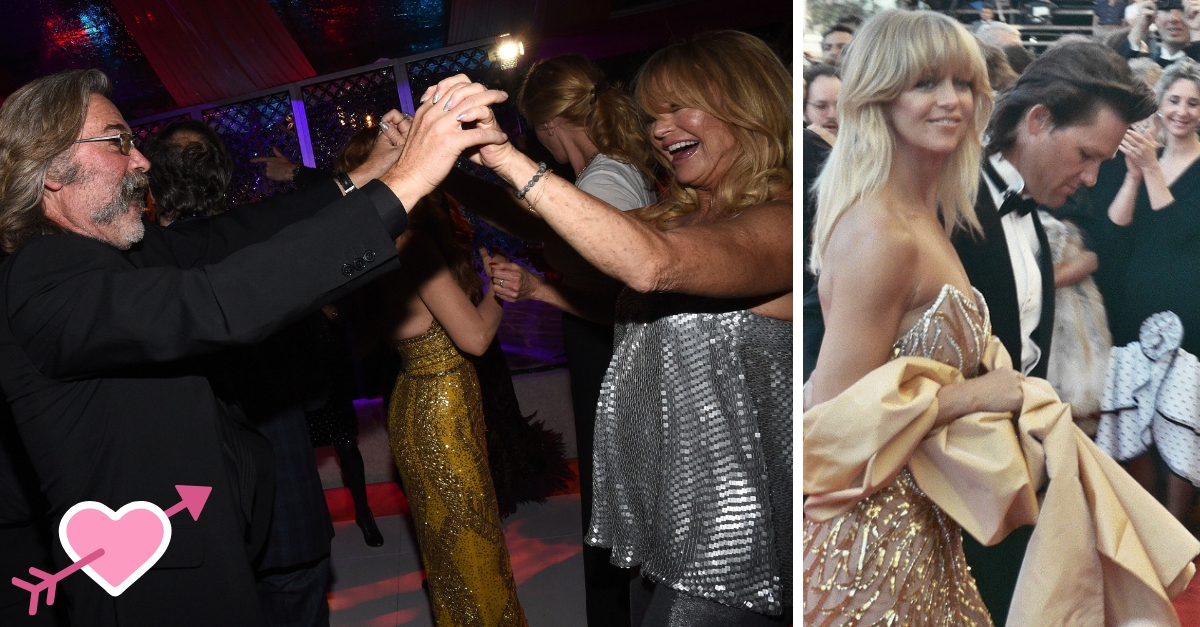 9 Photos Of Goldie Hawn And Kurt Russell That Prove They're Meant To Be