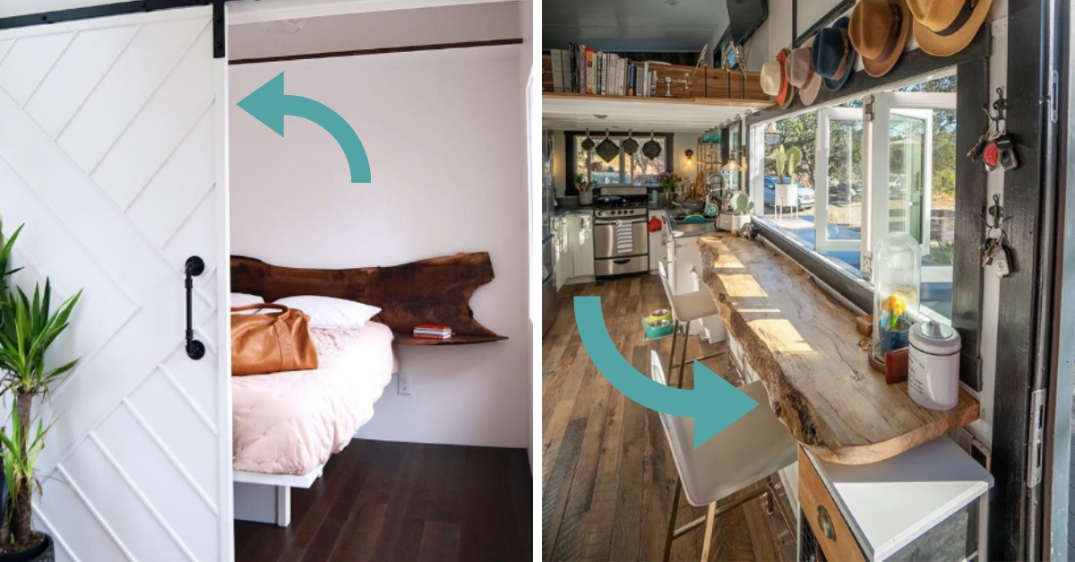 5 Space-Saving Ideas Inspired By Tiny Homes