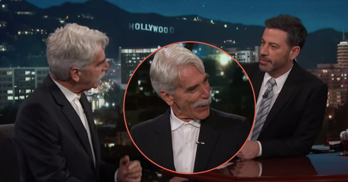 Sam Elliott Laughs With Jimmy Kimmel About Bradley Cooper's Voice In 'A Star Is Born'