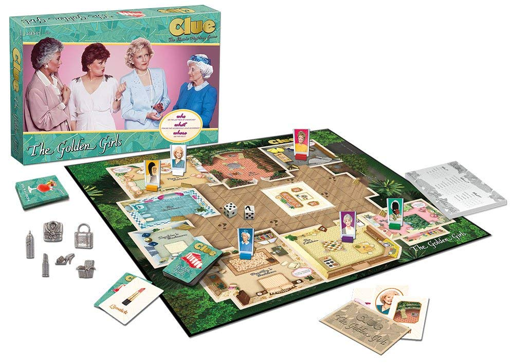 Golden Girls Clue Board Game Review