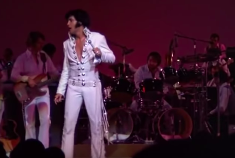 Las Vegas Performance Of Suspicious Minds By Elvis Presley