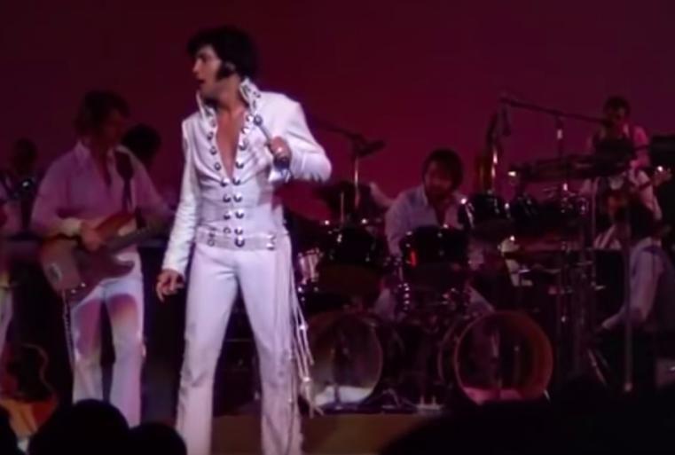 Las Vegas Performance Of Suspicious Minds By Elvis Presley