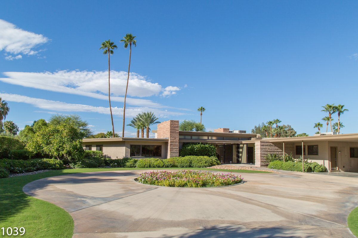 You Can Rent Frank Sinatra S Former Palm Springs Home