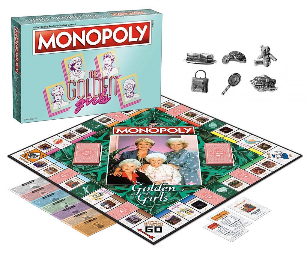 golden girls monopoly set