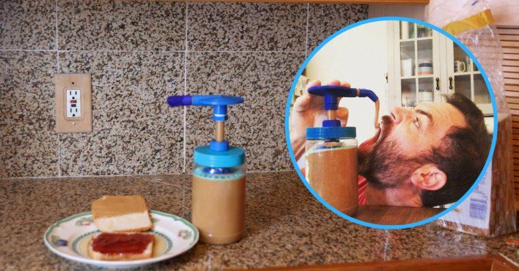 peanut-butter-pump-invention