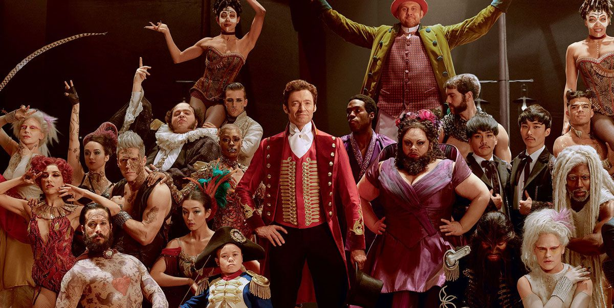 greatest showman cast
