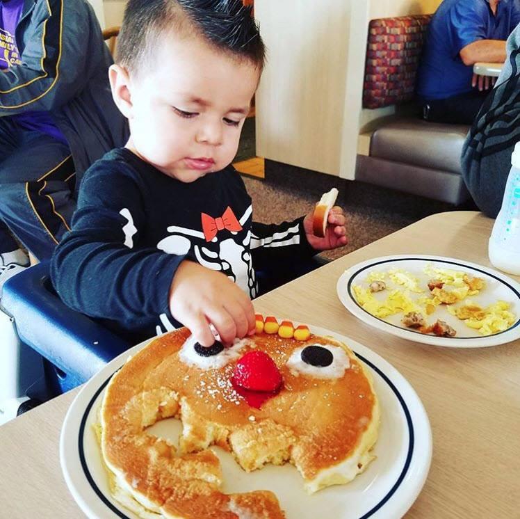 kid pancakes