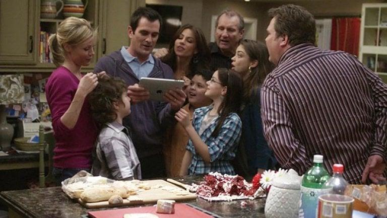 social tv e brand integration - episodio di Modern Family