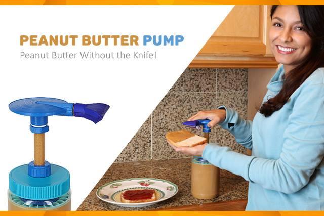peanut butter pump