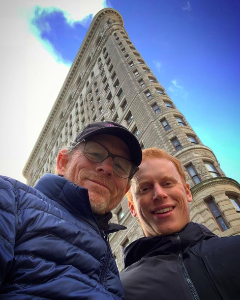 Ron Howard S Son Is His Real Life Twin