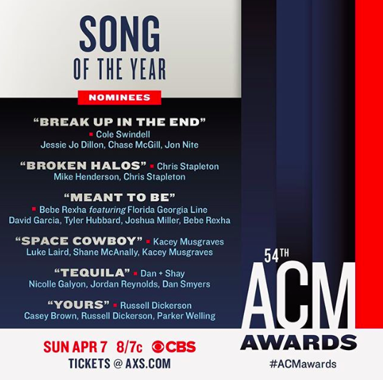 Space Cowboy Kacey Musgraves: Reba McEntire Announces Country Music Awards Nominees