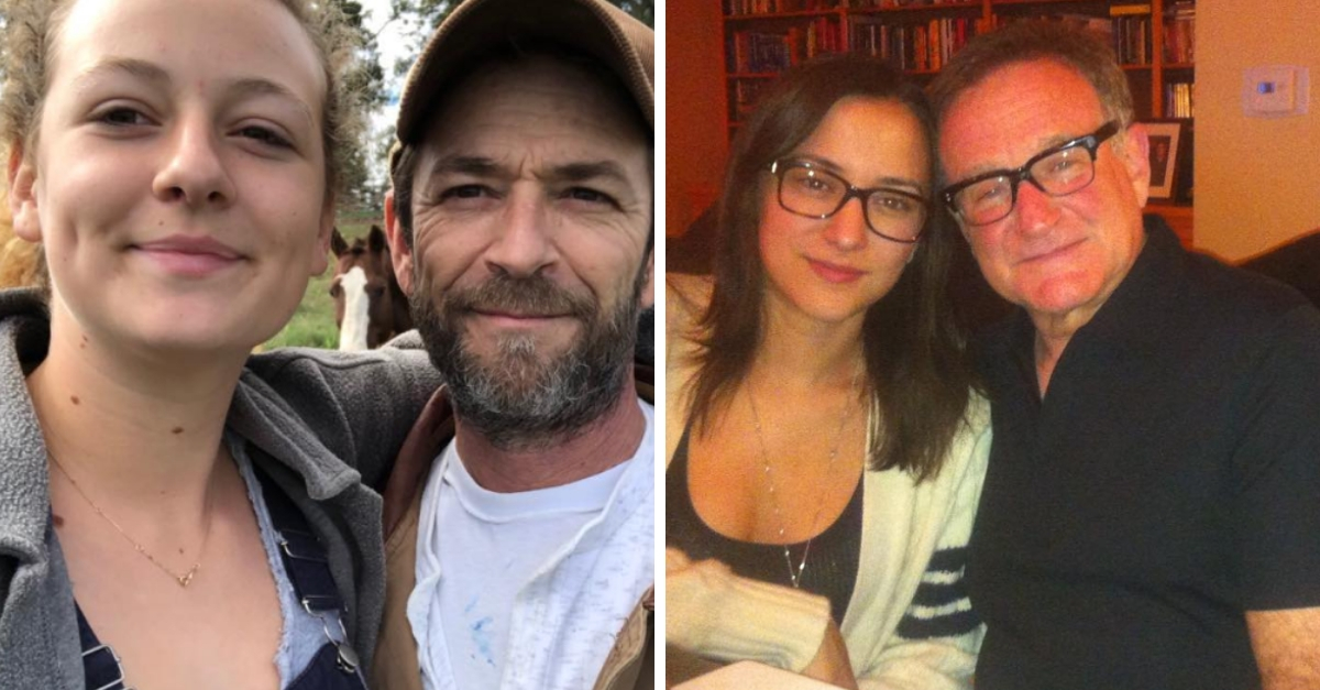 Luke Perry's Daughter Gets Advice From Robin Williams' Daughter On Loss And Online Bullies
