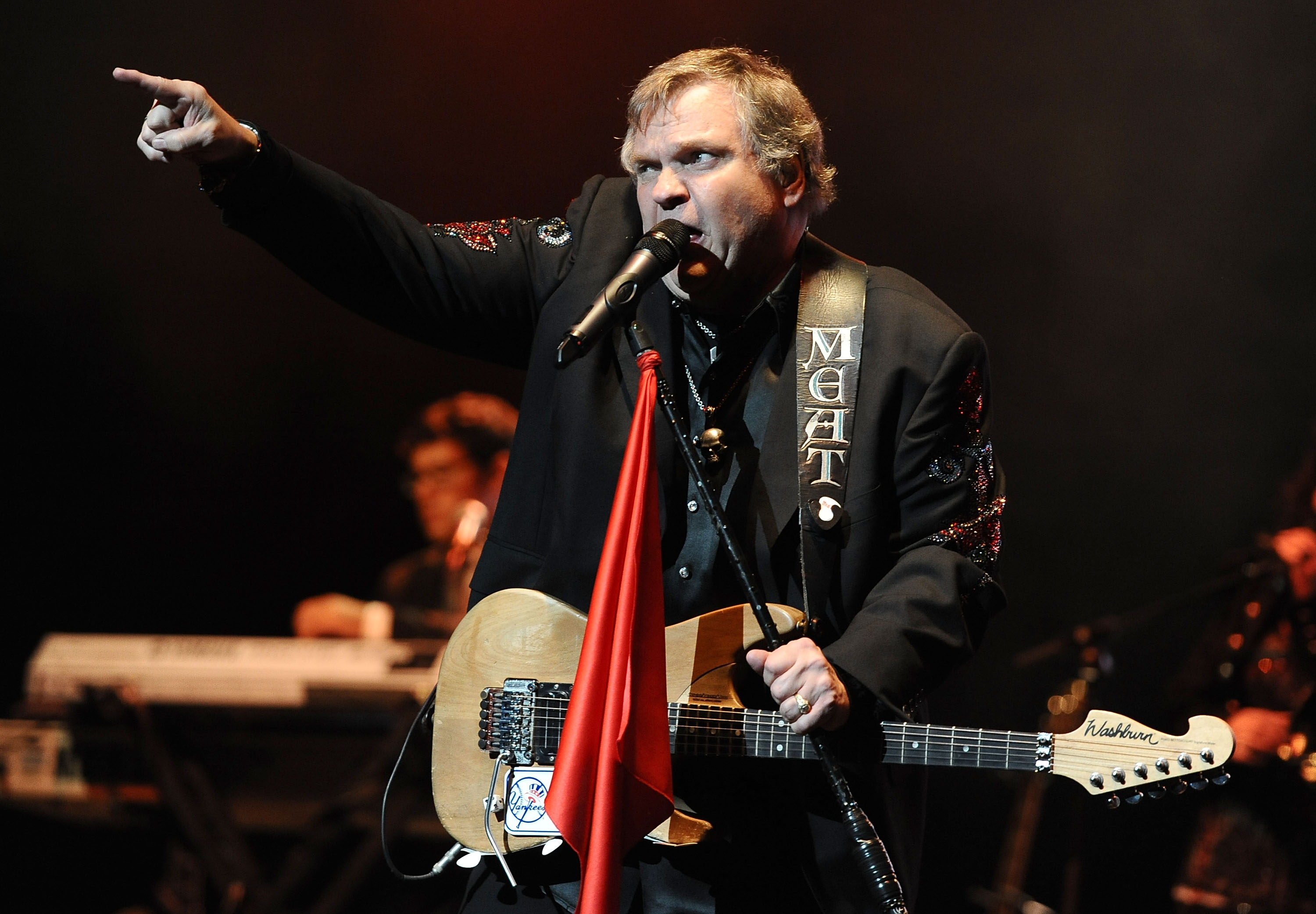 meat loaf perfomring