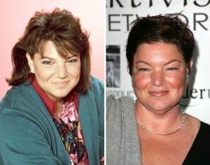 Mindy Cohn then and now