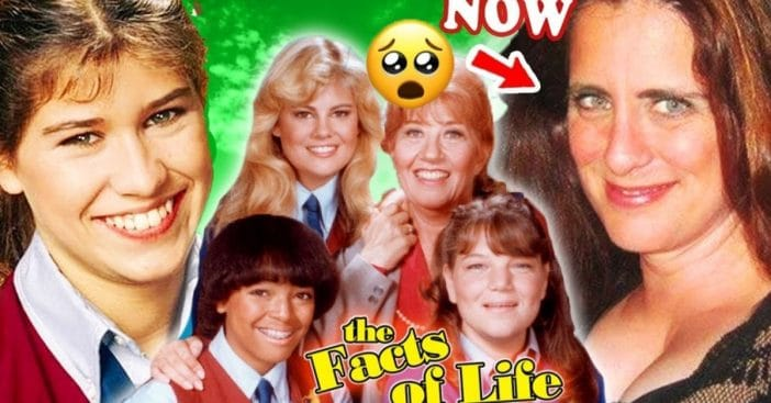 The cast of 'The Facts of Life' then and now
