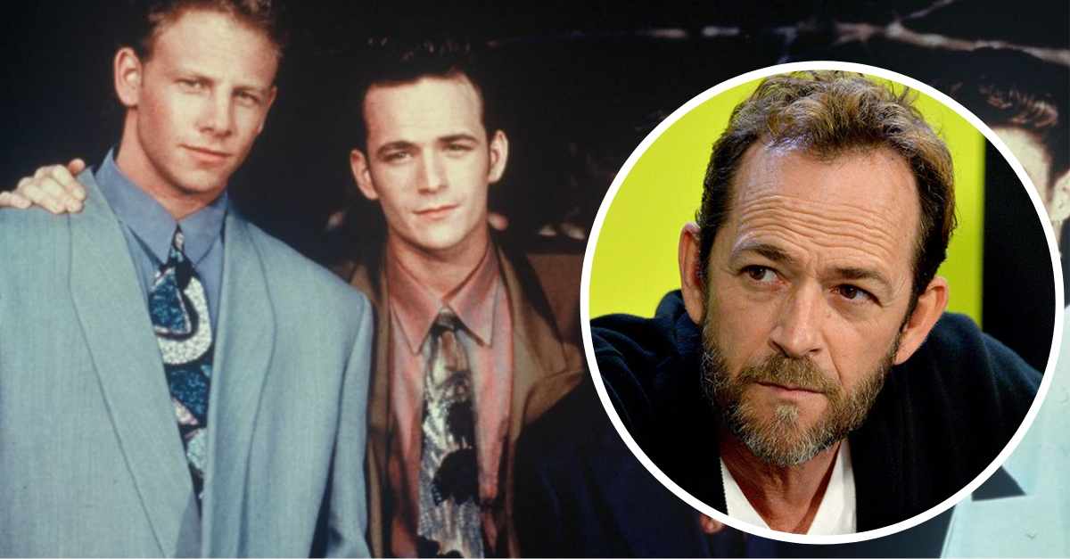 '90210' Co-Stars And Friends Send Well Wishes To Luke Perry After Stroke