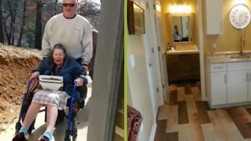 basement turned into senior living home