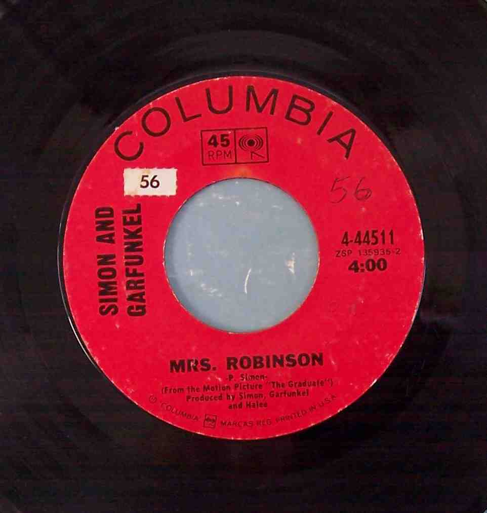 mrs robinson record