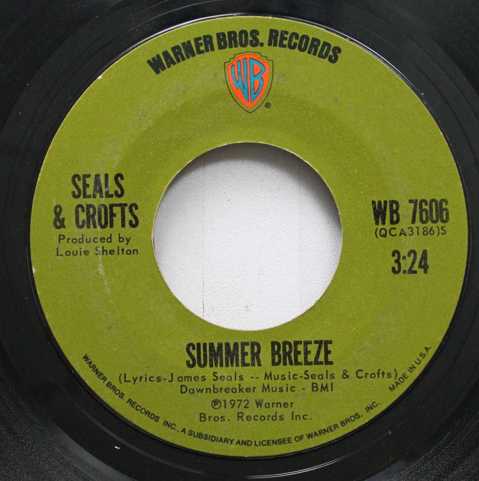 seals and crofts summer breeze record