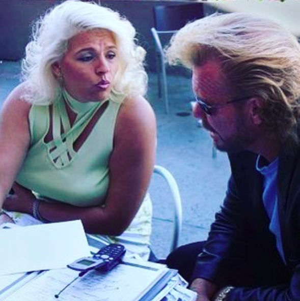 young beth chapman and dog the bounty hunter