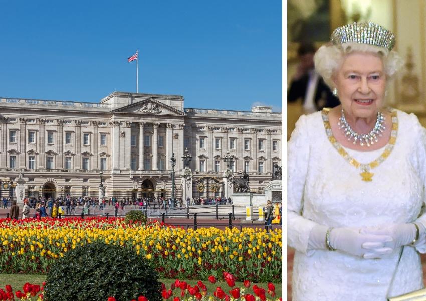 buckingham palace queen elizabeth ii