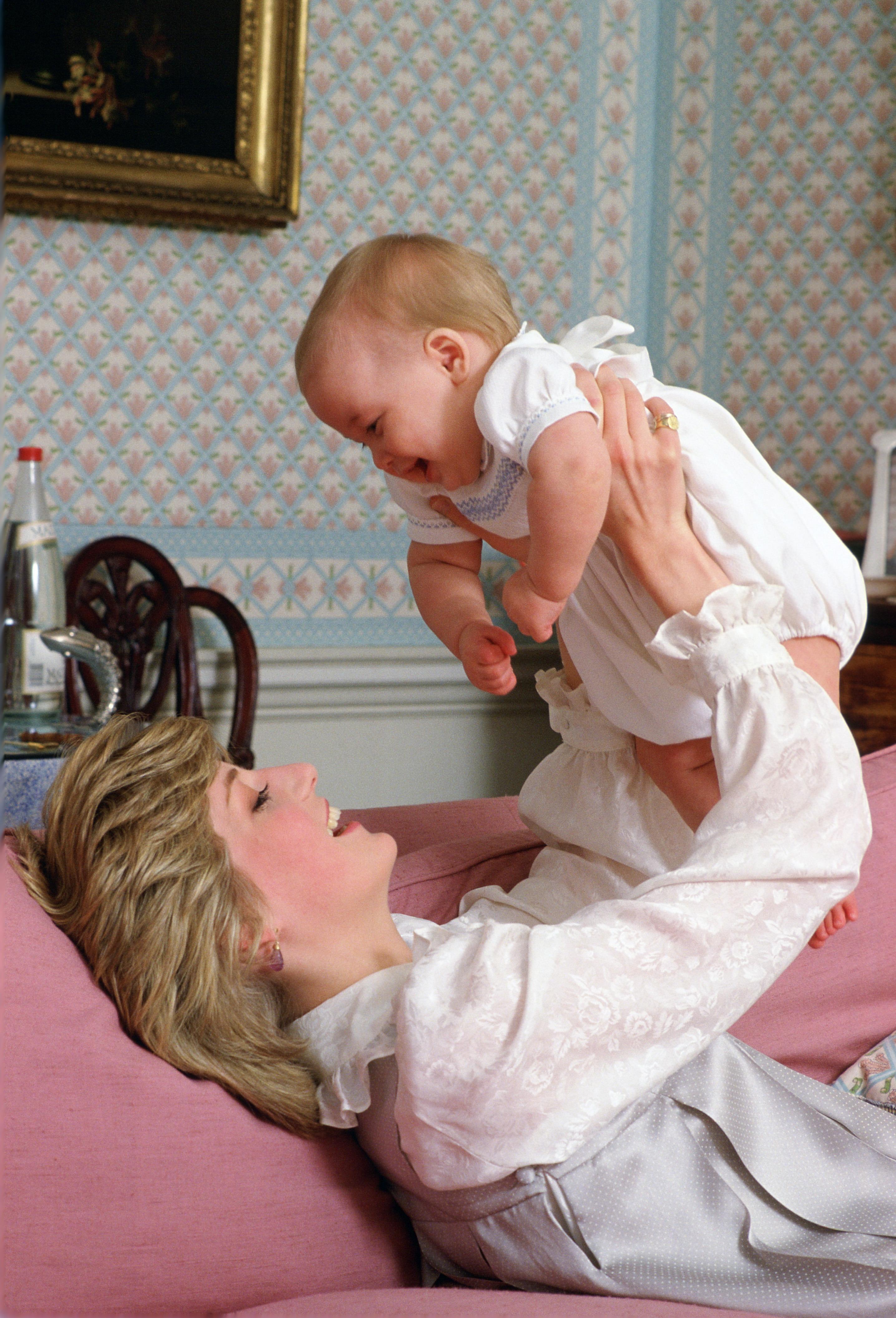 princess diana postpartum