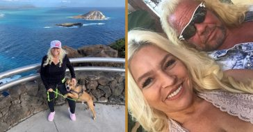 beth chapman hikes amid cancer battle