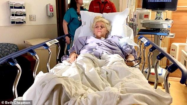 beth chapman in hospital