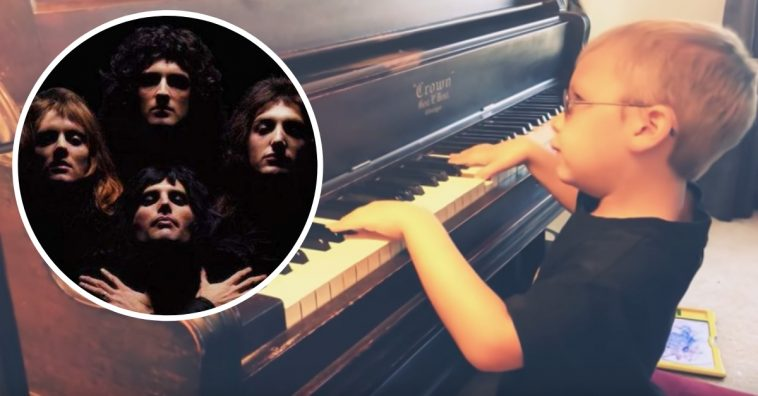 Blind Boy Plays Incredible Piano Cover Of