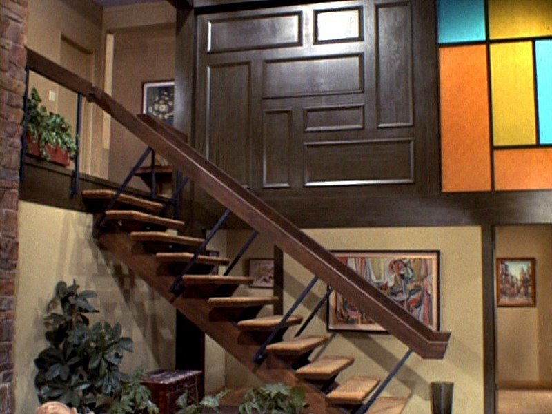 brady bunch staircase