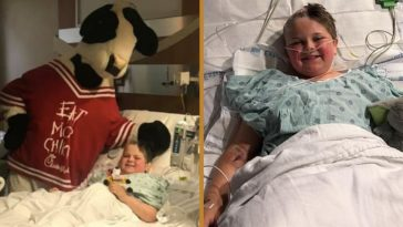 chick-fil-a makes special sunday delivery for boy with brain tumor