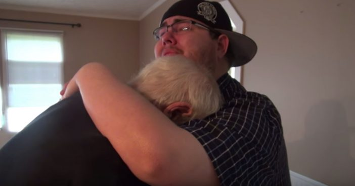 son buys dad new house
