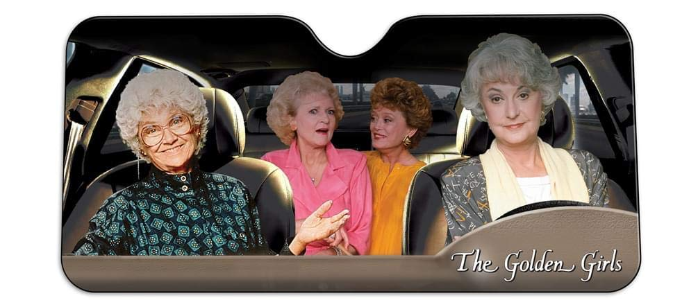 golden girls windshield visor